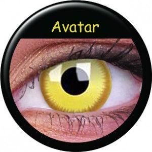 ColourVue Crazy šošovky - Avatar (2 ks ročné) - nedioptrické
