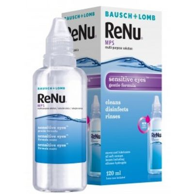 ReNu MPS Sensitive Eyes 120 ml s púzdrom