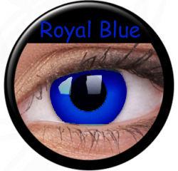 ColourVue Crazy šošovky - Royal Blue (2 ks ročné) - nedioptrické