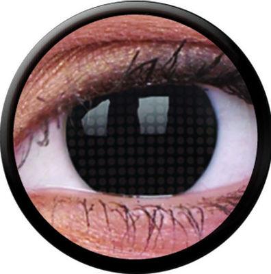ColourVue Crazy šošovky - Black Screen (2 ks ročné) - nedioptrické