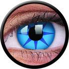 ColourVue Crazy šošovky - Blue Star (2 ks ročné) - nedioptrické