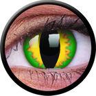 ColourVue Crazy šošovky - Green Dragon (2 ks ročné) - nedioptrické