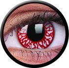 ColourVue Crazy šošovky - Blood Shot (2 ks trojmesačné) - dioptrické - dopredaj