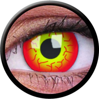 ColourVue Crazy šošovky - Dart Maul (2 ks trojmesačné) - nedioptrické