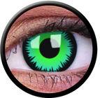 ColourVue CRAZY ŠOŠOVKY - Green Werewolf (2 ks trojmesačné) - nedioptrické