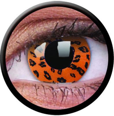 ColourVue Crazy šošovky - Yellow Leopard (2 ks trojmesačné) - nedioptrické