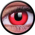 ColourVue Crazy šošovky - Red Devil (2 ks ročné) - nedioptrické