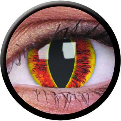 ColourVue Crazy šošovky - Saufrons Eye (2 ks trojmesačné) - nedioptrické