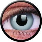 ColourVe Crazy šošovky - Zombie grey (2 ks trojmesačné) - nedioptrické