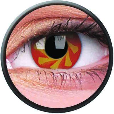 Phantasee Crazy šošovky - Blood Spin (2 ks ročné) - nedioptrické - exp.02/2021