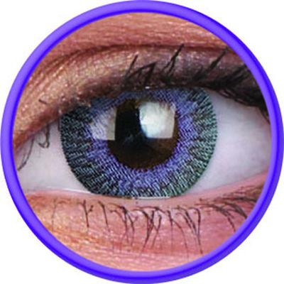 ColourVue Fusion - Violet Gray (2 šošovky trojmesačné) - nedioptrické - dopredaj