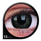 ColourVue Big Eyes - Awesome black (2 šošovky trojmesačné) - dioptrické