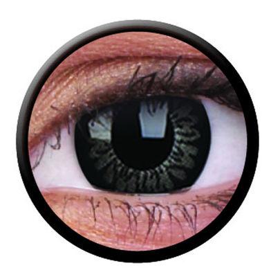 ColourVue Big Eyes - Dolly Black (2 šošovky trojmesačné) - dioptrické-dopredaj; výroba ukončená