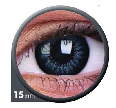 ColourVue Big Eyes - Evening Grey (2 šošovky trojmesačné) - nedioptrické