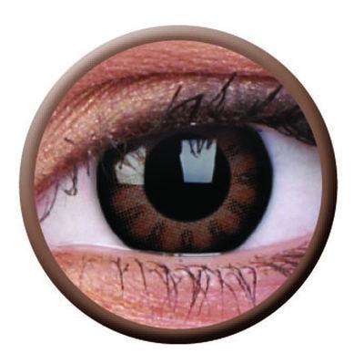 ColourVue Big Eyes - Sexy Brown (2 šošovky trojmesačné) - dioptrické