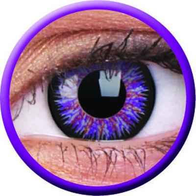ColourVue Glamour - Violet (2 šošovky trojmesačné) - dioptrické-dopredaj; výroba ukončená