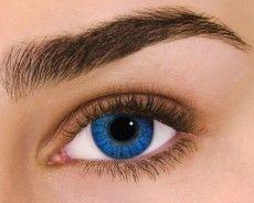 Air Optix Colors - Brilliant Blue (2 šošovky mesačné) - nedioptrické
