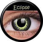 ColourVue Crazy šošovky - Eclipse (2 ks trojmesačné) - dioptrické