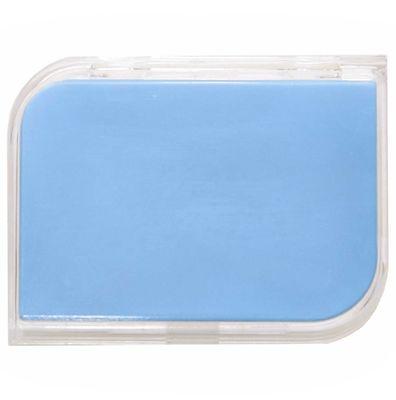 Puzdro na tvrdé šošovky zostava - Modré
