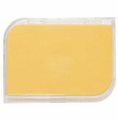 Puzdro na tvrdé šošovky zostava - Žlté (Zlaté)