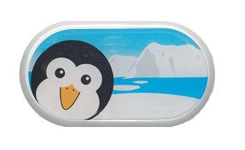 Ozdobné púzdro so zrkadielkom Sever - Tučniak