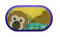 Ozdobné púzdro so zrkadielkom Farma - opice