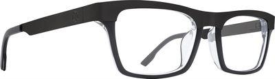 Dioptrické okuliare SPY ZADE Black Clear