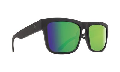 Slnečné okuliare SPY DISCORD Matte Black Green - Hapy Polar