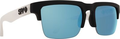 Slnečné okuliare SPY HELM 5050 Black/White - Blue spectra