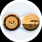Antibakteriálne puzdro klasické - Afrika - Lev
