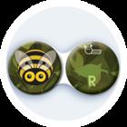 Antibakteriálne puzdro klasické - Hmyz - Osa