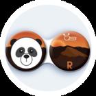 Antibakteriálne puzdro klasické - India - Panda