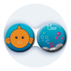 Antibakteriálne puzdro klasické - More - Ryba