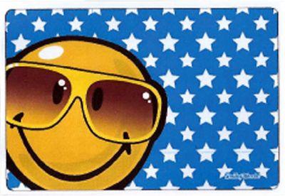 Handričku na okuliare z mikrovlákna Smiley - okuliare