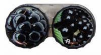 Klasické puzdro motív ovocia - Černice
