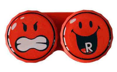 Ozdobné púzdro Smiley - Červené