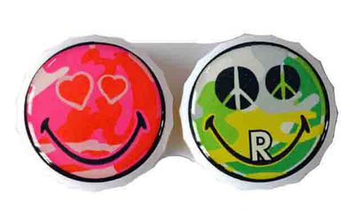 Ozdobné púzdro Smiley - Hippie