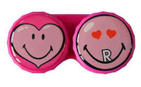 Klasické puzdro Smiley - Srdce
