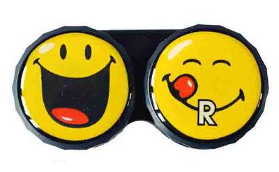 Ozdobné púzdro Smiley - Čierny úsmev