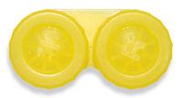 Púzdro klasické jednofarebné - Svetlo žlté