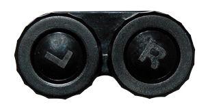 Púzdro klasické jednofarebné - Čierne