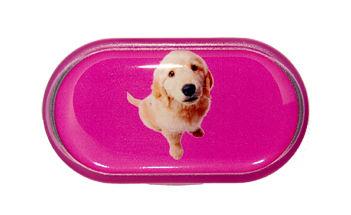Púzdro so zrkadielkom Jednoobrázkové - Pes