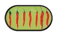 Púzdro so zrkadielkom motív Klasik - Papričky