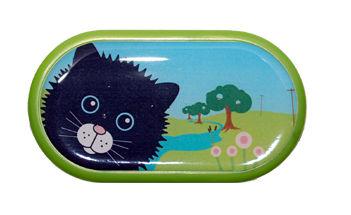 Ozdobné púzdro so zrkadielkom Farma - Mačka