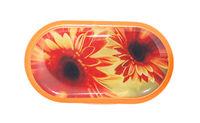 Púzdro so zrkadielkom motív kvety - Gerbera