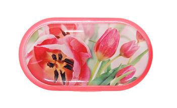 Púzdro so zrkadielkom motív kvety - Tulipán