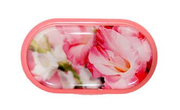 Púzdro so zrkadielkom motív kvety - Gladiola