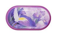 Púzdro so zrkadielkom motív kvety - Iris