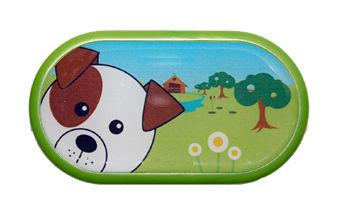 Ozdobné púzdro so zrkadielkom Farma - Pes