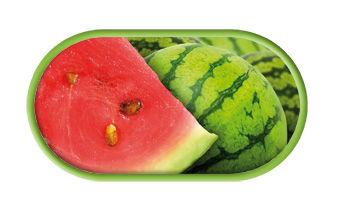 Púzdro so zrkadielkom motív Ovocie - Melón